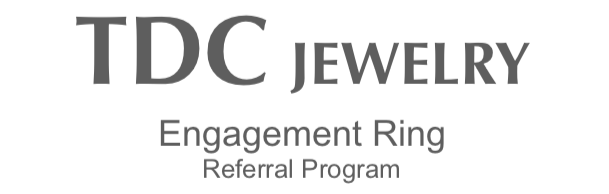 tdc jewelry engagement ring referral program