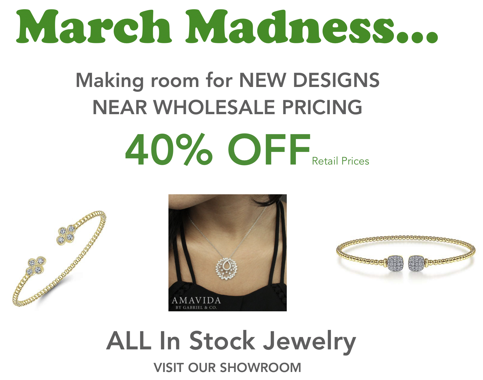 march madness sale tdc jewelry