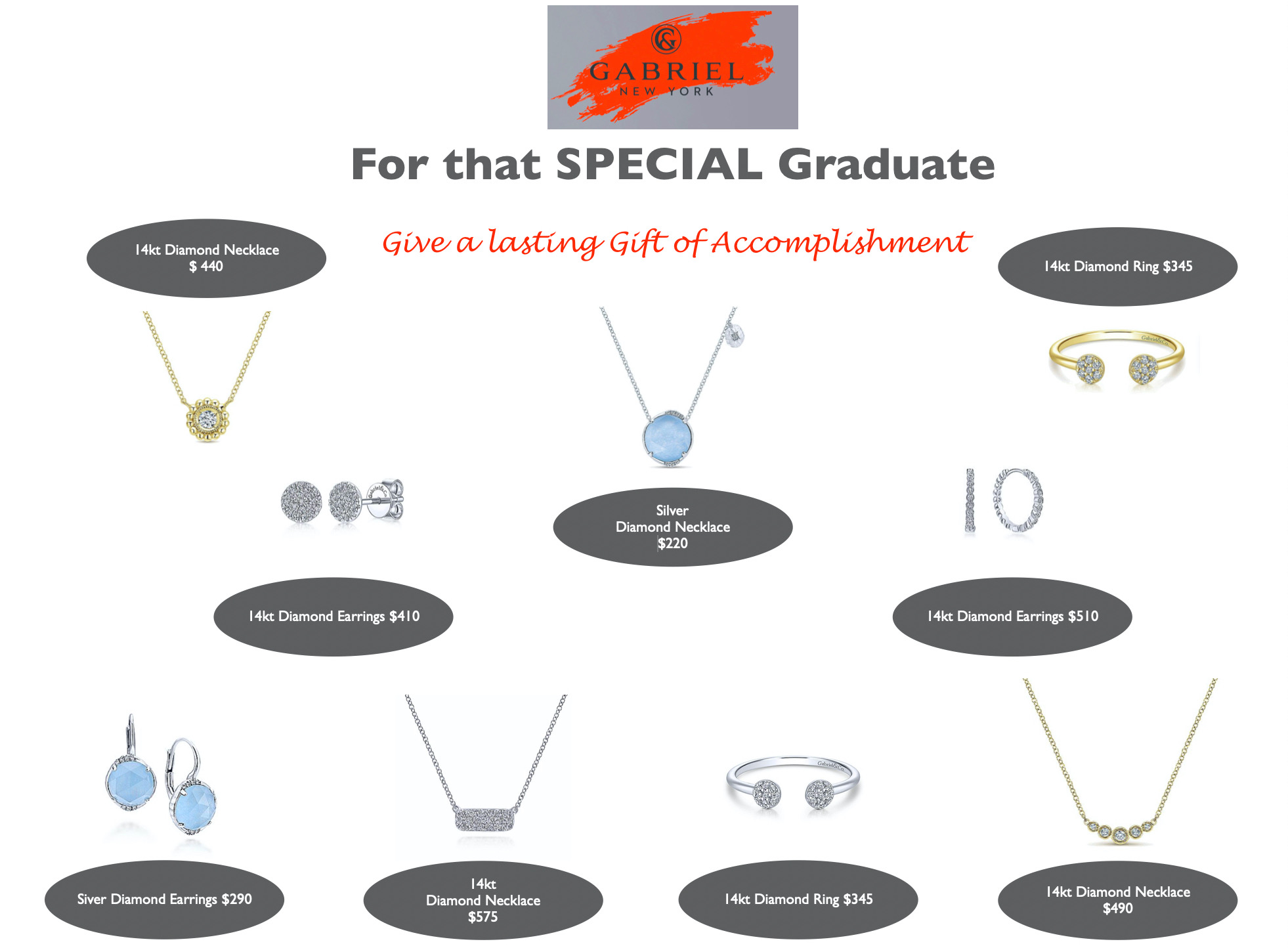 graduation gifts tdc jewelry